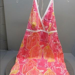 NWT Lily Pulitzer Out to Lunch Moon Glow Dress 6